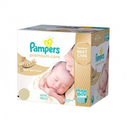 Pampers - Mega pack 104 Couches Premium Care taille 1 sur Couches Center