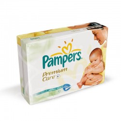 Pampers - Giga pack 260 Couches Premium Care taille 1 sur Couches Center