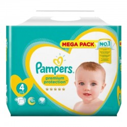 Pampers - Pack 27 Couches Premium Protection taille 4 sur Couches Center