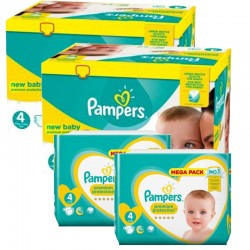 Pampers - Pack 54 Couches Premium Protection taille 4 sur Couches Center