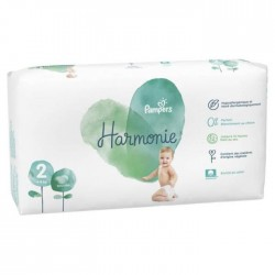 Pampers - Pack 39 Couches Harmonie taille 2 sur Couches Center
