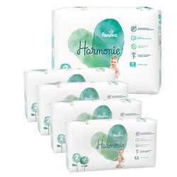 Pampers - Mega pack 195 Couches Harmonie taille 2 sur Couches Center