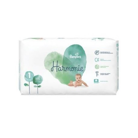 Pampers - Pack 68 Couches Harmonie taille 1 sur Couches Center