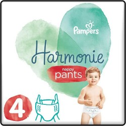 Pampers - Pack 58 Couches Harmonie Pants taille 4 sur Couches Center