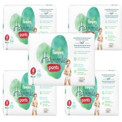 Pampers - Mega pack 174 Couches Harmonie Pants taille 4 sur Couches Center