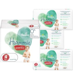 Pampers - Giga pack 232 Couches Harmonie Pants taille 4 sur Couches Center