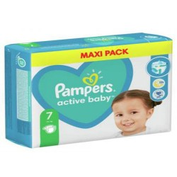 Pampers - Maxi giga pack 396 Couches Active Baby Dry taille 7 sur Couches Center