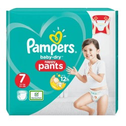 Pampers - Pack 40 Couches Baby Dry Pants taille 7 sur Couches Center