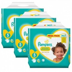 Pampers - Giga pack 260 Couches Premium Protection taille 5 sur Couches Center
