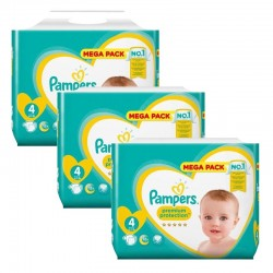 Pampers - Pack 48 Couches Premium Protection taille 4 sur Couches Center
