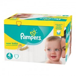 Pampers - Pack 96 Couches Premium Protection taille 4 sur Couches Center