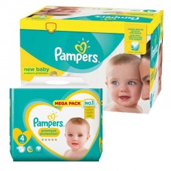 Pampers - Mega pack 192 Couches Premium Protection taille 4 sur Couches Center
