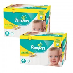 Pampers - Maxi giga pack 336 Couches Premium Protection taille 4 sur Couches Center