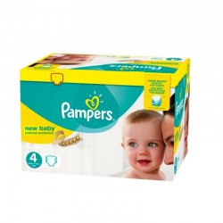 Pampers - Maxi mega pack 408 Couches Premium Protection taille 4 sur Couches Center