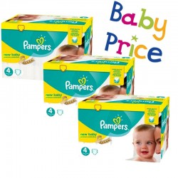 Pampers - Pack jumeaux 504 Couches Premium Protection taille 4 sur Couches Center