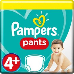 Pampers - Mega pack 100 Couches Baby Dry Pants taille 4+ sur Couches Center