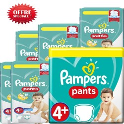 Pampers - Maxi giga pack 300 Couches Baby Dry Pants taille 4+ sur Couches Center