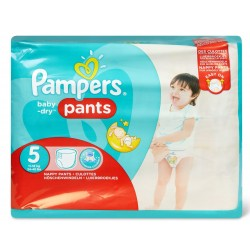 Pampers - Pack 96 Couches Baby Dry Pants taille 5 sur Couches Center