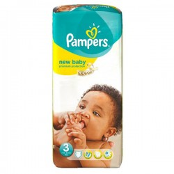 Pampers - Pack 20 Couches New Baby Premium Protection taille 3 sur Couches Center