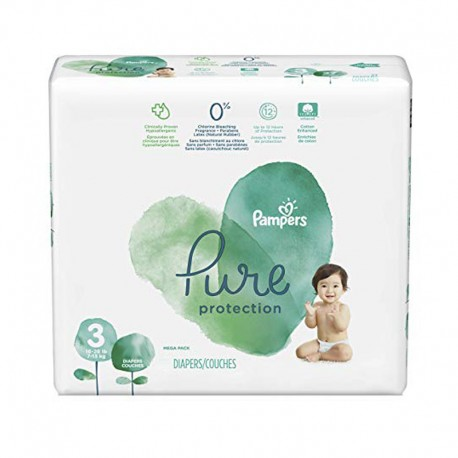 Pampers - Pack 22 Couches Pure Protection taille 3 sur Couches Center