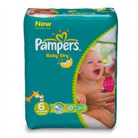 58 couches pampers baby dry taille 6 bas prix sur - Prix couches pampers baby dry taille 4 ...