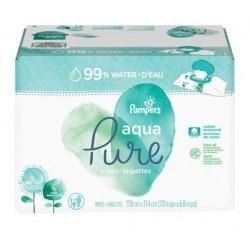 Pampers - 348 384 Lingettes Bébés Aqua Pure sur Couches Center