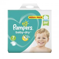 Pampers - Pack 21 Couches Baby Dry taille 7 sur Couches Center
