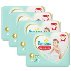 Pampers - Mega pack 152 Couches Premium Protection Pants taille 4 sur Couches Center