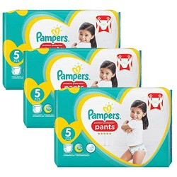 Pampers - 680 Couches Premium Protection Pants taille 5 sur Couches Center
